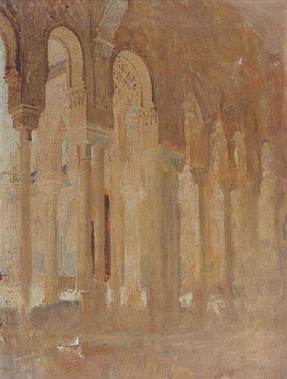 Henri RÉGNAULT (1843-1871) Colonnade du Patio des