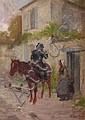 Édouard Bernard DEBAT-PONSAN (1847-1913) Le départ