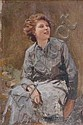 Édouard Bernard DEBAT-PONSAN (1847-1913) Étude