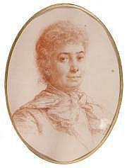 Paul Adolphe RAJON (1883-1888) Portrait de femme