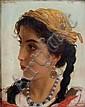 Adriano BONIFAZI (1858-1914) Portrait de femme,, Adriano Bonifazi, Click for value