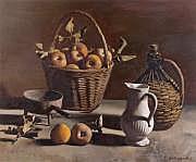Pierre JOUFFROY (1912-2000) Le panier de pommes,