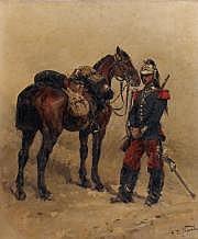 Alphonse Marie de NEUVILLE (1835-1885) Militaire