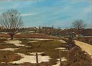 Albert DRACHKOVITCH-THOMAS (né en 1928) Paysage