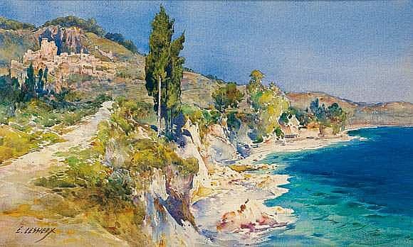 Ernest-Louis LESSIEUX (1848-1925) - Monte-Carlo