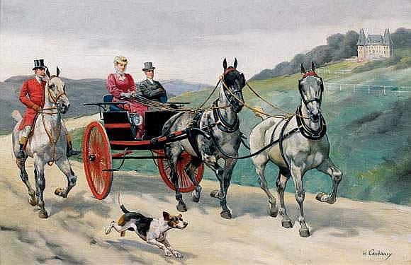 Charles-Fernand CONDAMY (vers 1855-1913) -