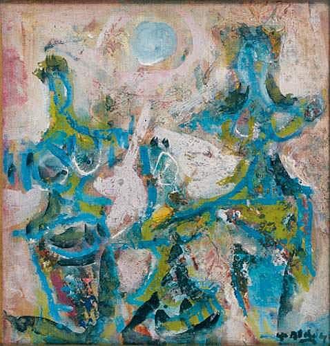 Yvette ALDE (1911-1967) - Trois danseuses