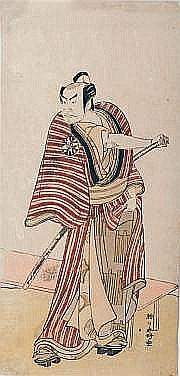 KATSUKAWA SHUNKÔ (1743-1812) HOSOBAN TATE-E,