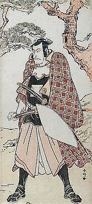 KATSUKAWA SHUNKÔ (1743-1812) HOSOBAN TATE-E