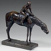Giuseppe FERRARI (1840-1905) Jockey à cheval