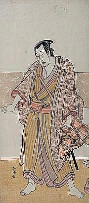 Katsukawa Shunkô (1743-1812) Hosoban tate-e partie