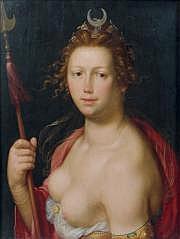 Cornelis CORNELISZ van HAARLEM (1562-1638) Diane