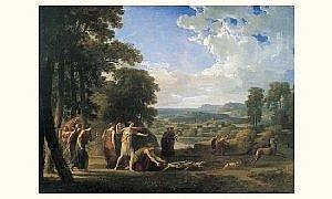 Jacques-Antoine VALLIN (1760-1831) - the hunting of Diane
