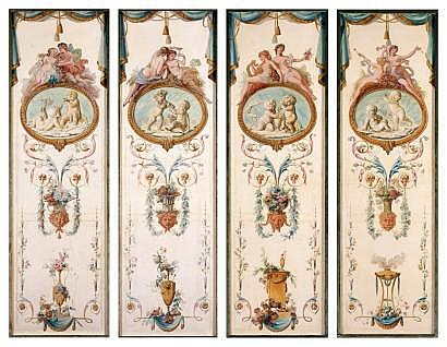 ÉCOLE FRANÇAISE du XIXe siècle, dans le goût de