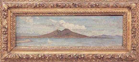 Elie DELAUNAY (1828-1891) - La baie de Naples et