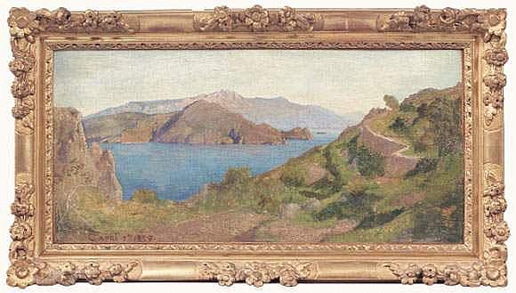 Elie DELAUNAY (1828-1891) - Capri