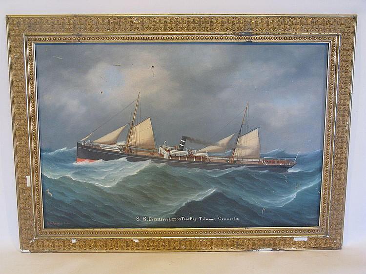 Salvatore de Angelis (b.1856) S.S.Eshcolbrook