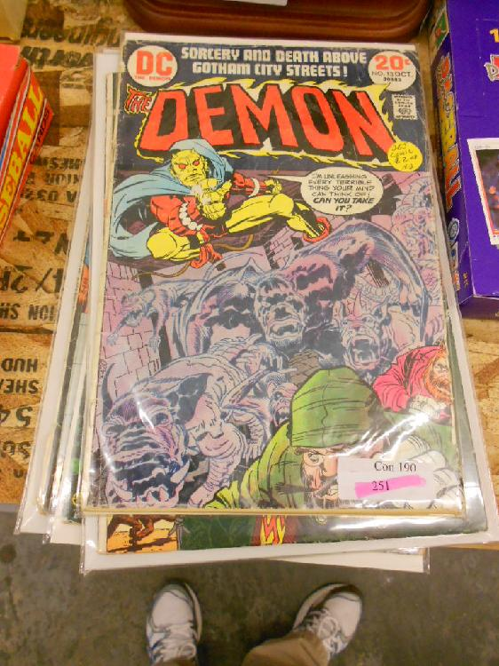 6 Vintage Comic books .12-.35 cent covers