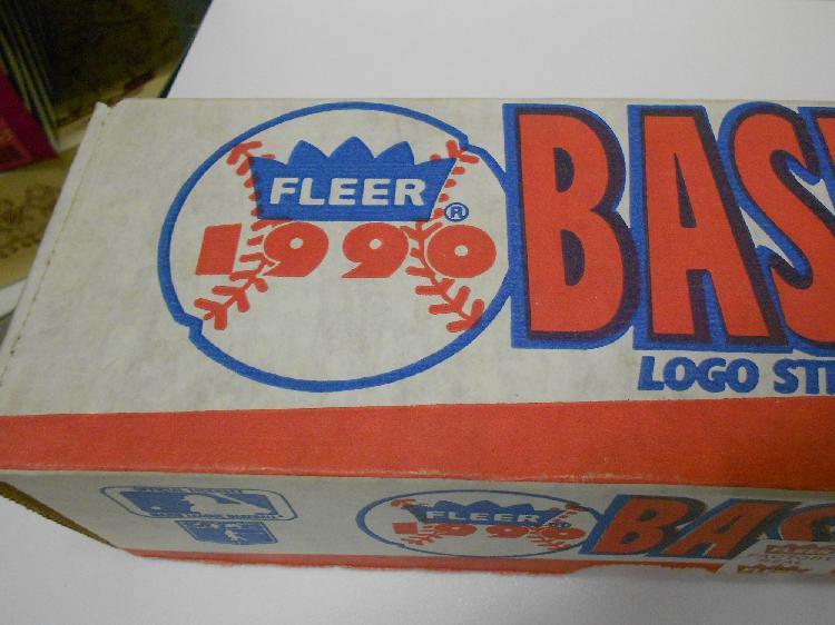 Factory Sealed 1990 Fleer Set Baseball Cards