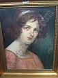 Dolf van Roy (1858-1943), Portrait of a girl, head, Dolf