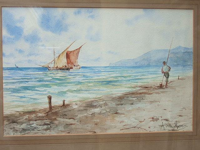 Angelo della Mura (1867-1922), Amalfi Coastal