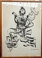 • Ossip Zadkine (1890-1967), Cubist figure with