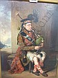 William Derby (1786-1847), The Blind Piper, oil on, William Derby, Click for value