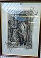 Hedley Fitton (1859-1929), Rue Barbette, Paris;, Hedley Fitton, Click for value