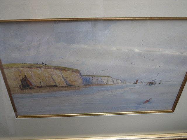 George Edward Alexander (1865-1931), Beach scenes,