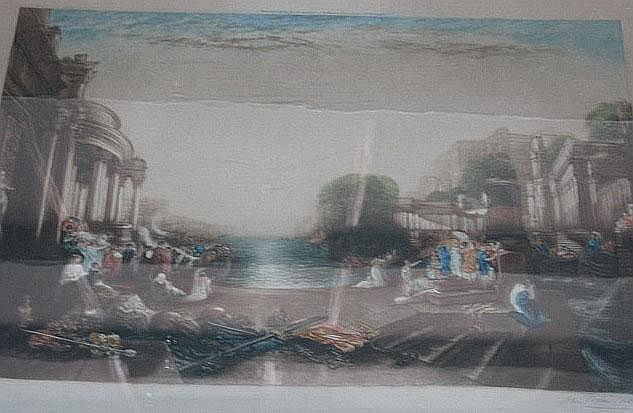 John Cother Webb (1855-1927), after Turner,
