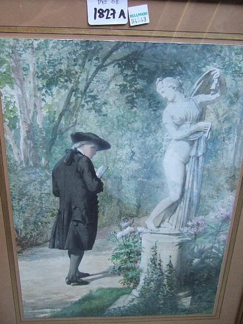 Louis-Emile Adan (1839-1937), A promenade in the
