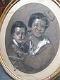 William Crawford (19th century), Portrait of two, William (1825) Crawford, Click for value