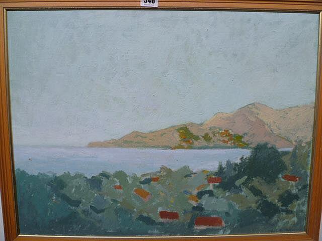 Charlotte Ardizzone (b.1945), Near St. Florent,