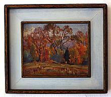 Modern American Impressionist Landscape
