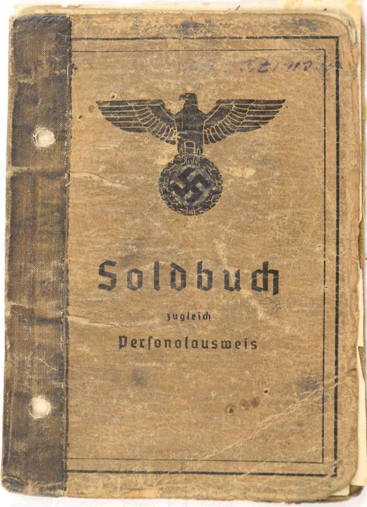 SOLDBUCH EINES UNTEROFFIZIERS