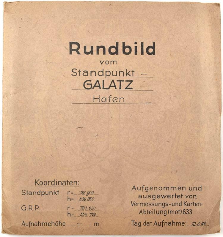 RUNDBILD HAFEN VON GALATZ (GALATI)