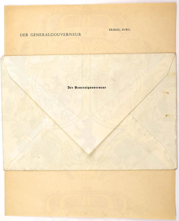 BRIEFPAPIER GENERALGOUVERNEUR HANS FRANK (1900-1946)