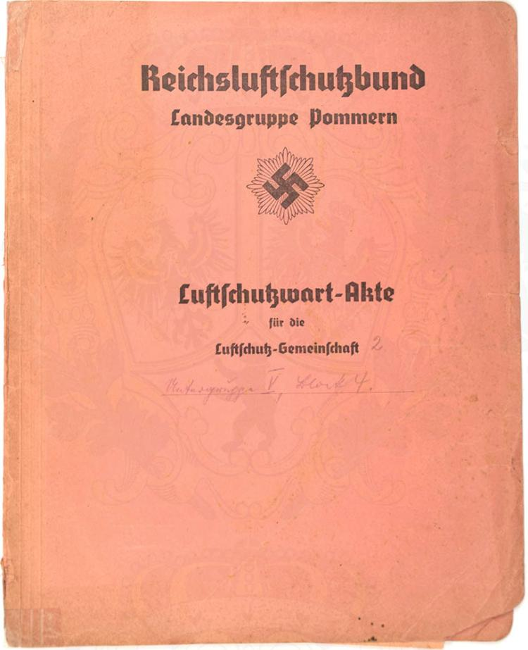 LUFTSCHUTZWART-AKTE
