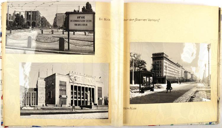 FOTOALBUM BERLIN 1956