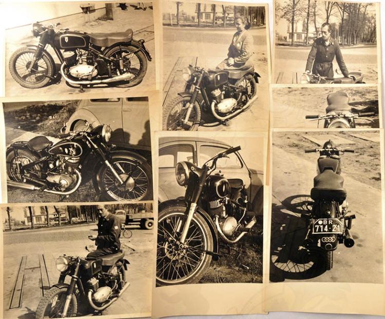 8 FOTO-AK DKW MOTORRÄDER