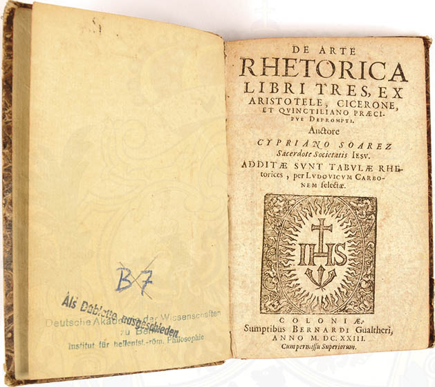 DE ARTE RHETORICA