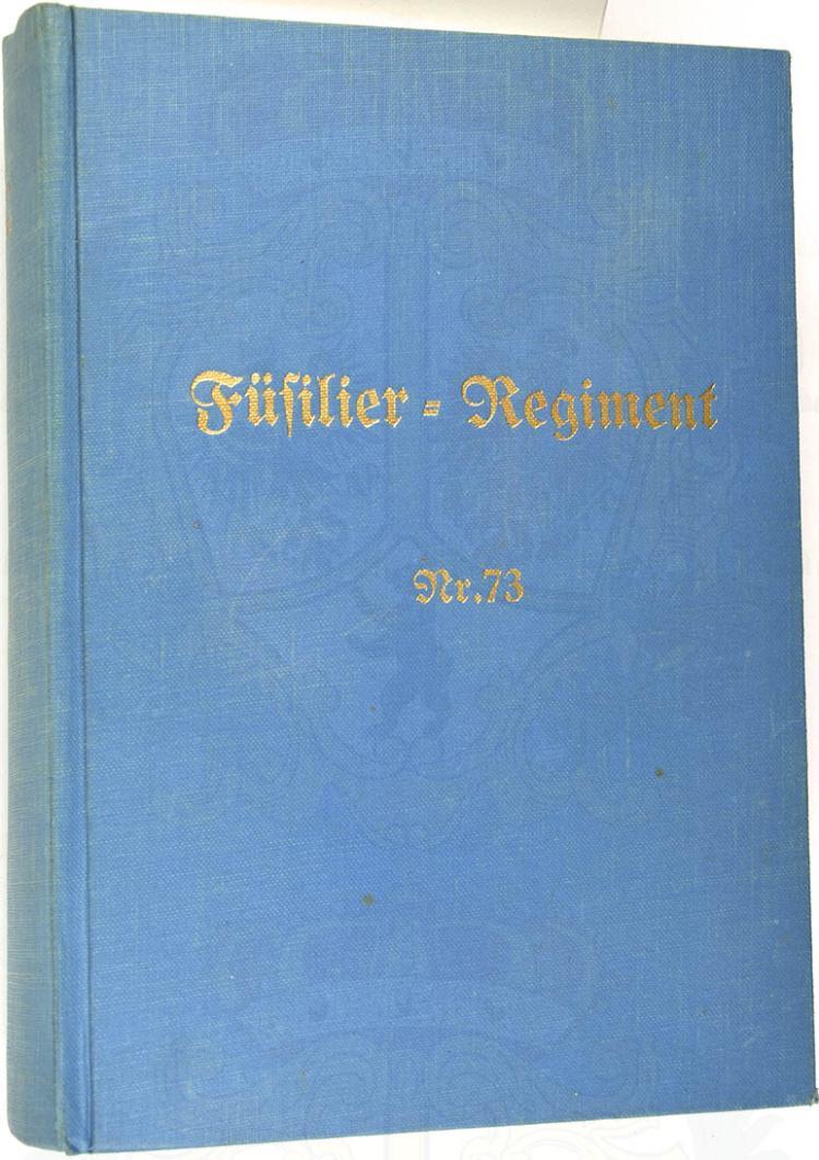 GESCHICHTE DES FÜSILIER-REGIMENTS NR. 73