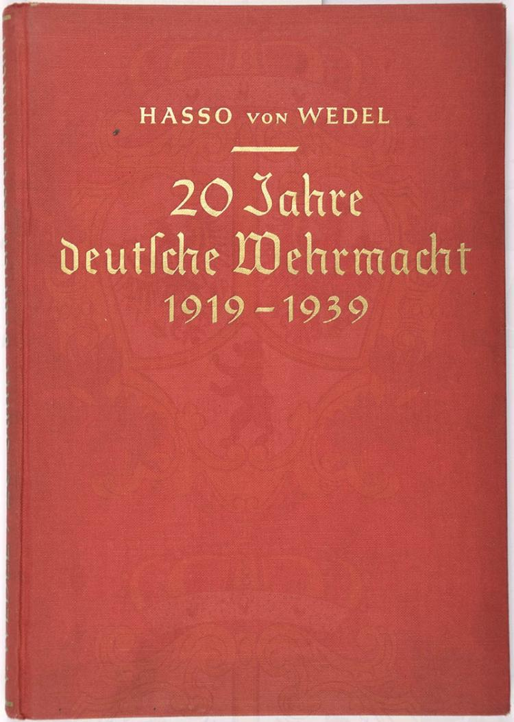 20 JAHRE DEUTSCHE WEHRMACHT 1919-1939