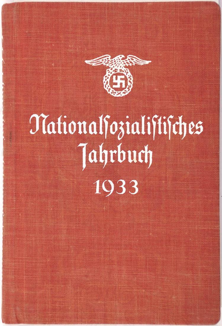 NATIONALSOZIALISTISCHES JAHRBUCH 1933