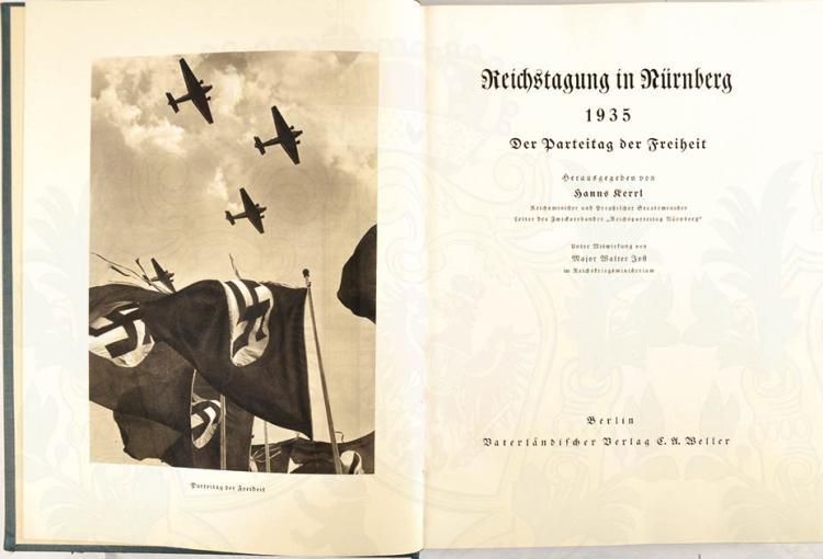 REICHSTAGUNG IN NÜRNBERG 1935