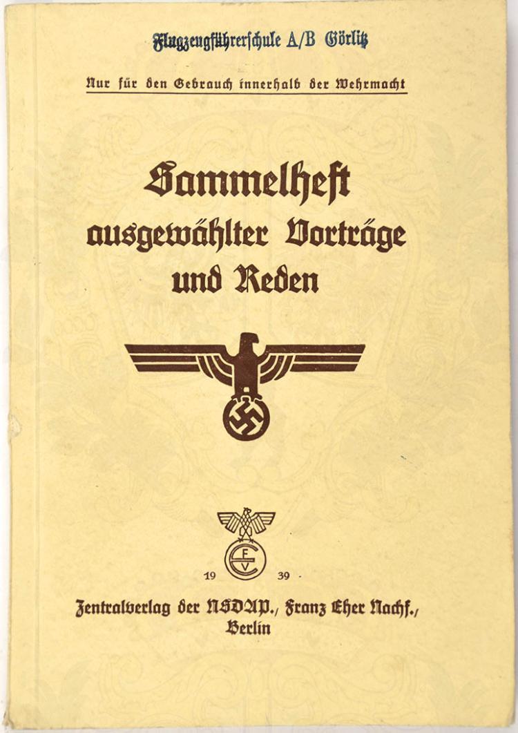 SAMMELHEFT AUSGEWÄHLTER VORTRÄGE UND REDEN