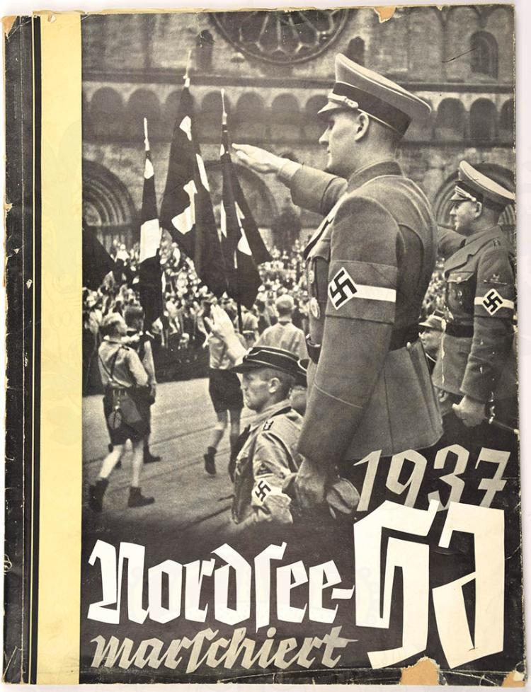 NORDSEE-HJ MARSCHIERT
