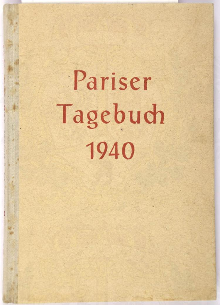PARISER TAGEBUCH 1940