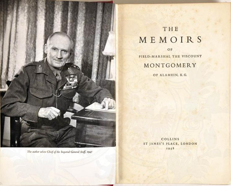 THE MEMOIRS OF FIELD-MARSHAL MONTGOMERY