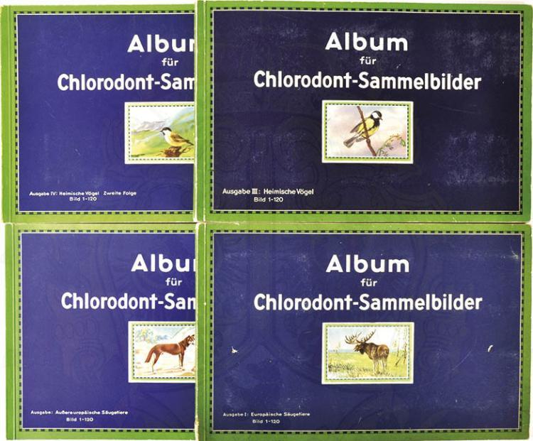 ALBUM FÜR CHLORODONT-SAMMELBILDER